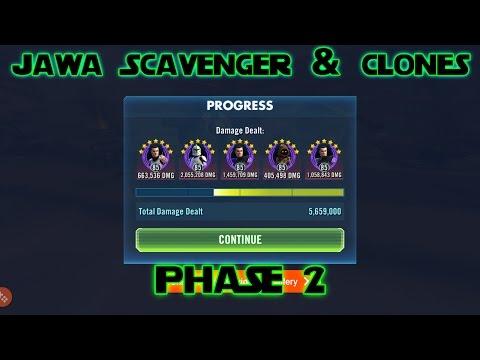 Jawa Scavenger and Clones- 5.6 million