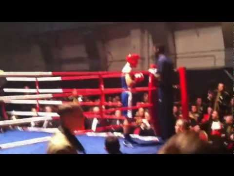 Harry Pickering Army Boxing Nov 2012