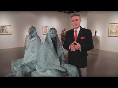 FRANCISCO ZUNIGA : SCULPTURE AND DRAWINGS