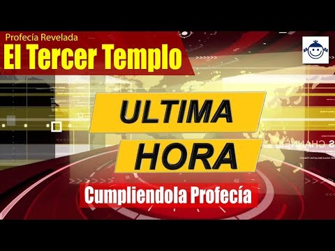 🛑 Profecía Cumpliendose: El Tercer Templo Reconstruido! / ALTAR CONSAGRADO!