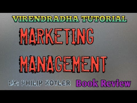 Marketing Management By Philip Kotler Book Review Youtube