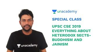 Special Class - Everything about Heterodox Sects - Buddhism & Jainism For CSE - Nithin Kunneparambil