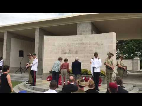 Laying of wreaths at Kranji War cemetery (2)
