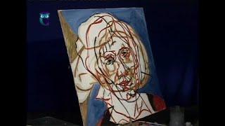 Уроки рисования (№ 114) масляными красками. Рисуем человека: автопортрет