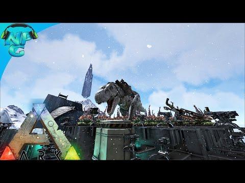 Raid Defense - Surprise Assault And Rex Drops! ARK Survival Evolved - PvP Season 2 E26