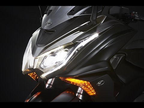 kymco ak 550, il nuovo maxiscooter - the thrills of touring - youtube