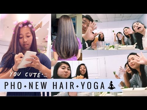 LUNCH DATE, HIGHLIGHTS, & YOGA: March Vlogs 2018
