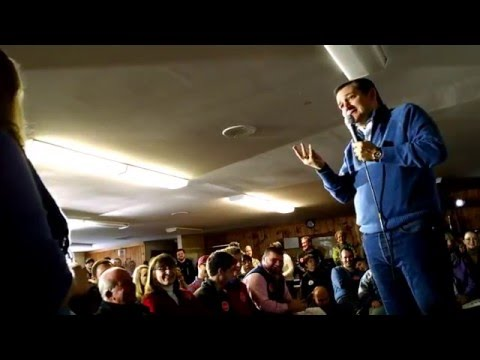 Ted Cruz, Question on Paid Family Leave