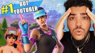 BIGGEST BOT in Fortnite Battle Royale! ** sad af **
