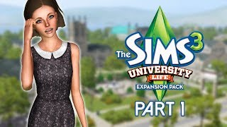 Let's Play The Sims 3: University Life | Part 1 - Sims University!