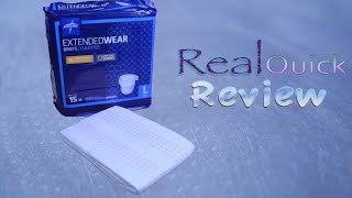 Real Quick Review Ep 3 Medline Extended Wear #adultdiaper