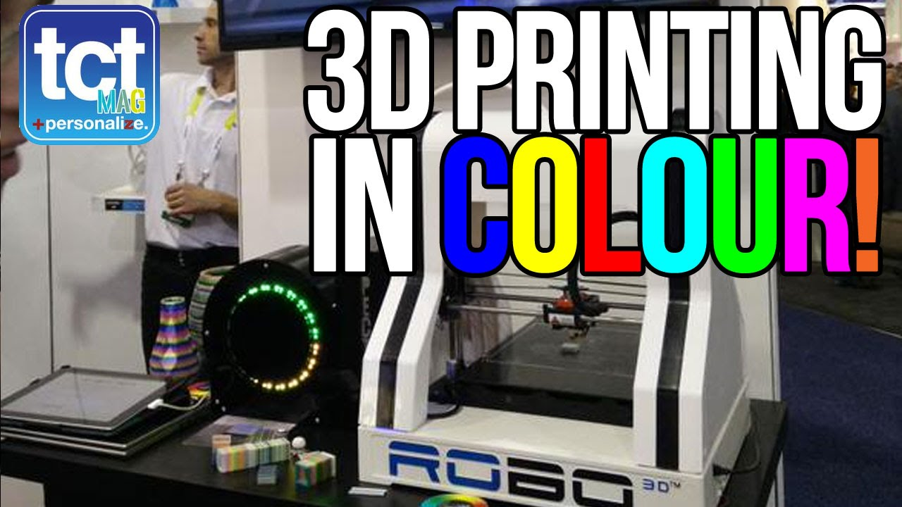 Xavier color printing - Full Colour Single Extruder 3d Printing At Ces 2015