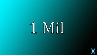 If I reach 1 million...