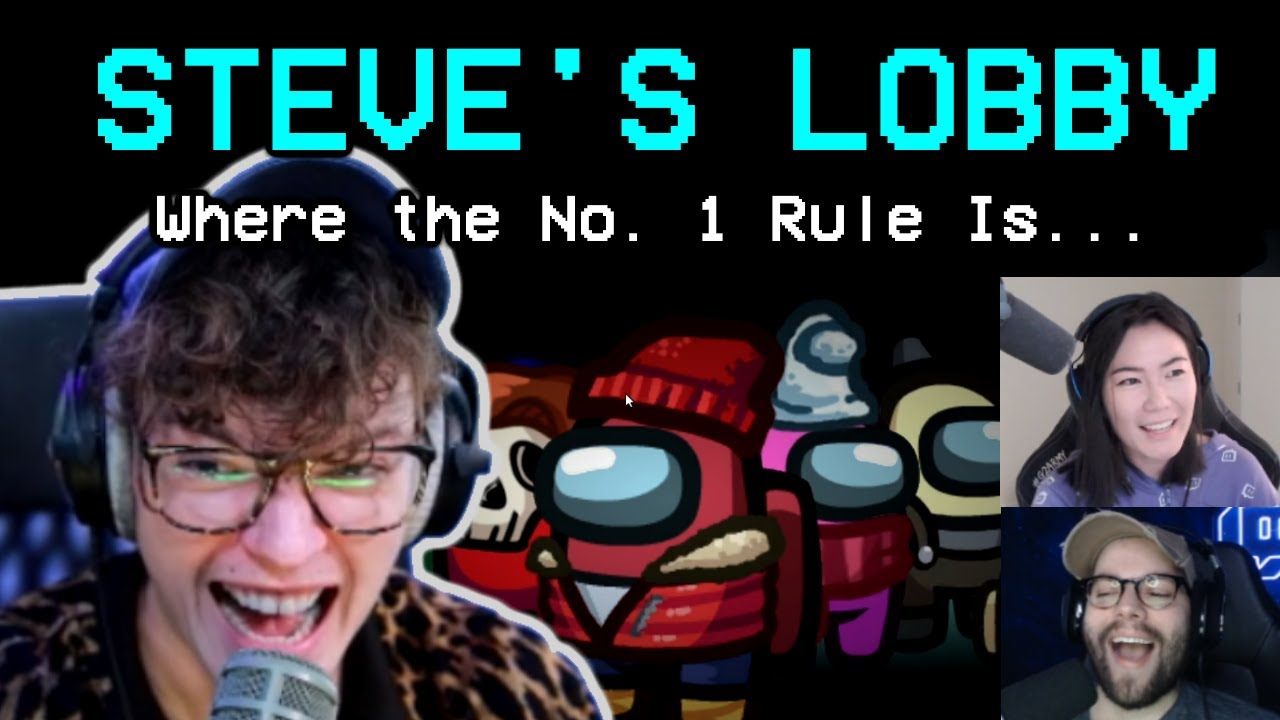 Steve ENFORCES His Lobby Rules! (Will NOT be Disrespected)
