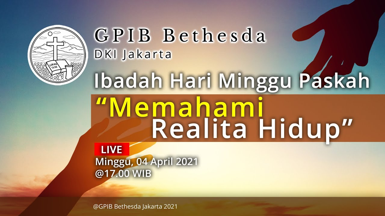 Ibadah Hari Minggu Paskah (04 April 2021) - Sore