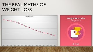 The Real Mathematics of Weight Loss