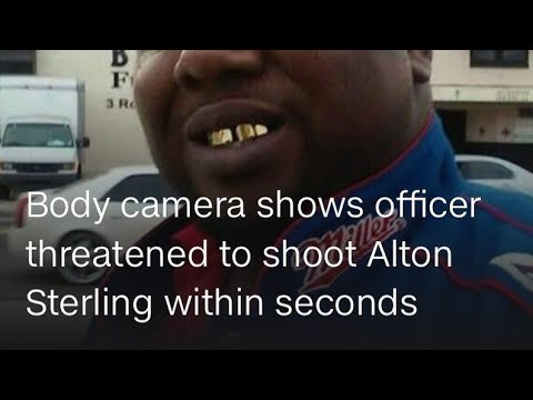 Alton Sterling Police Body Cameras released