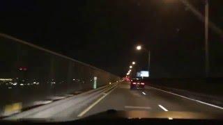 """herding cats"" on pulaski skyway (take 619): bmw sedan speeding in right lane"
