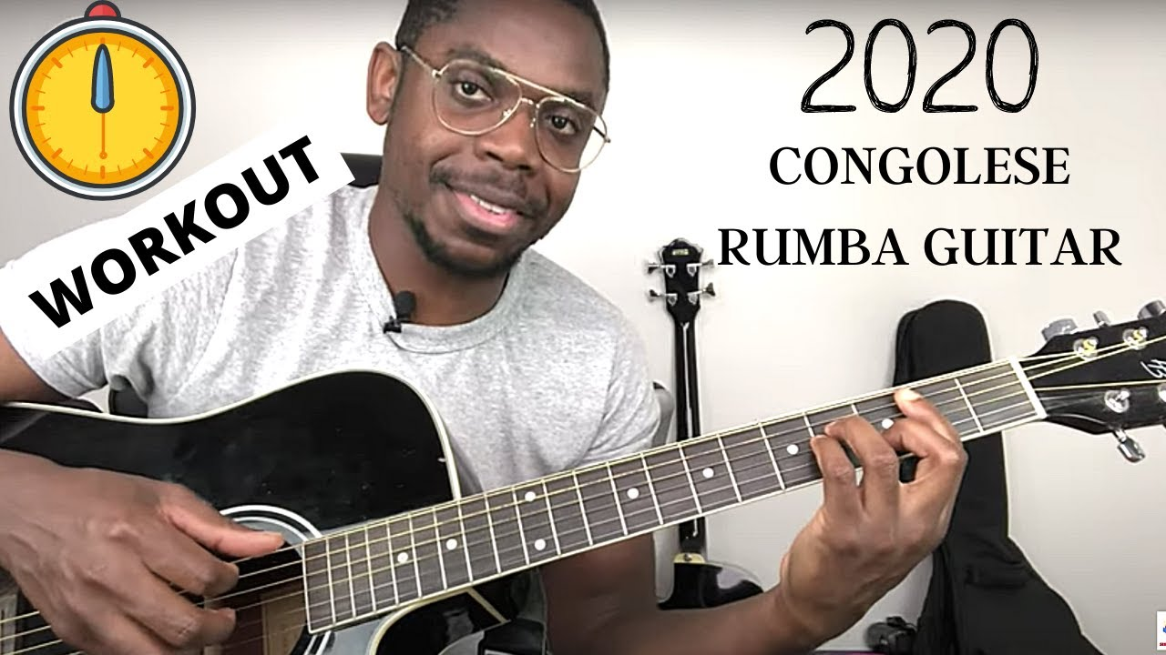 Practice African Music Rhythm with your Guitar | Follow along this Congolese Rumba exercise