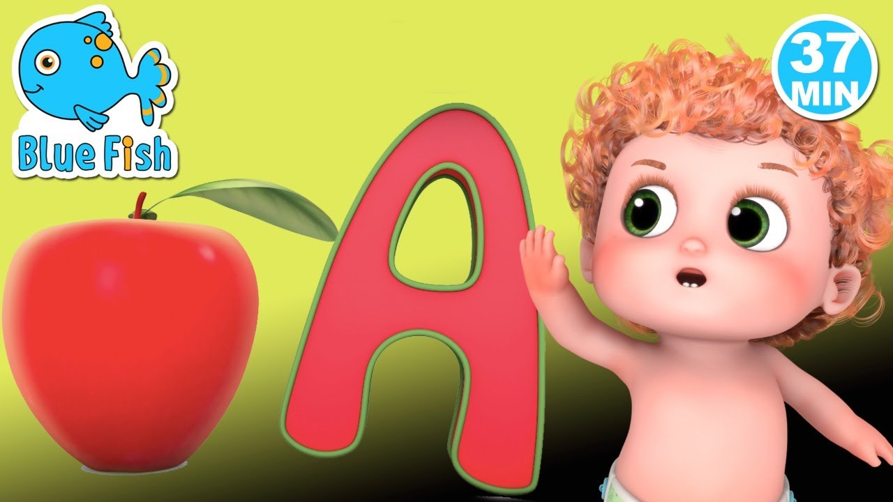 Learn to Count with Apples + More Nursery Rhymes & Kids Songs