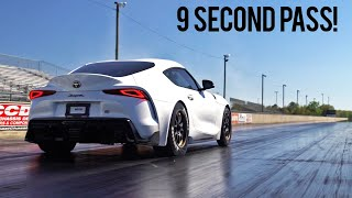 A90 Supra is Officially a 9 Second Daily!