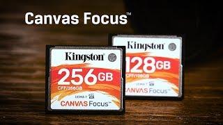 DSLR Camera CF Card – Kingston Canvas Focus CompactFlash