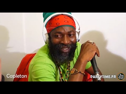 CAPLETON - Freestyle at Party Time radio show -  27 SEPT 201