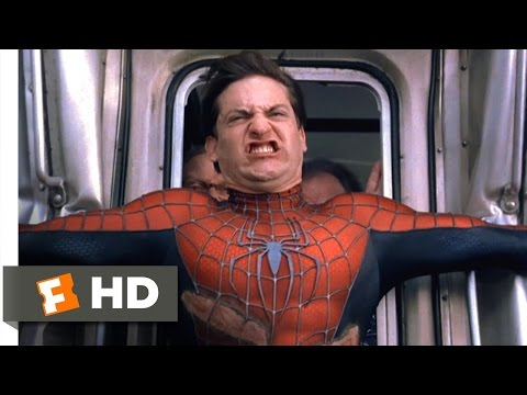 SpiderMan 2  Stopping the Train  710  Movies