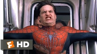 Spider-Man 2 - Stopping the Train Scene (7/10) | Movieclips thumbnail