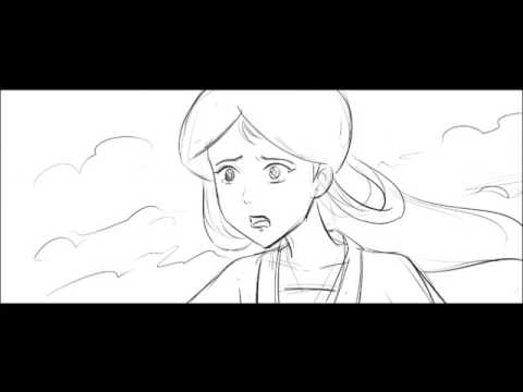 Storyboard of Chinese Fairly Tale Animation Film Trailer