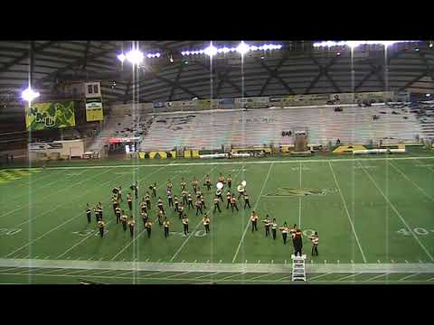 "Iron Mountain High School ""Mountaineer"" Marching Band - 2017 NMU Band Day"