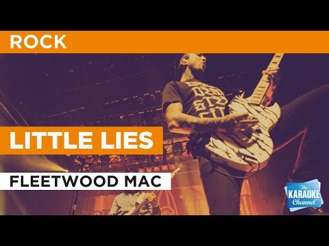 """Little Lies in the Style of """"Fleetwood Mac"""" with lyrics (no lead vocal)"""