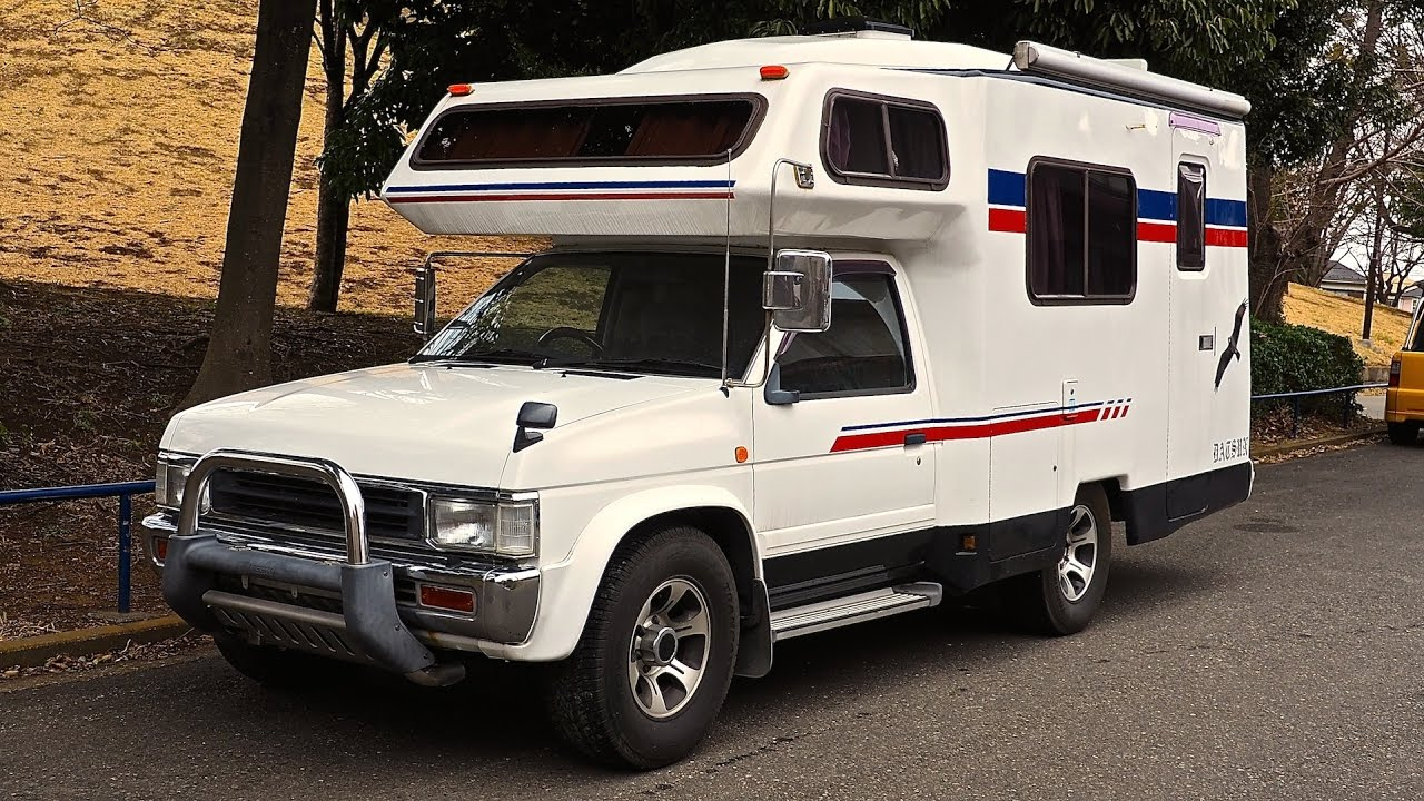 PART 2/2 - 1993 Nissan Diesel Camper (Canada Import) - YouTube