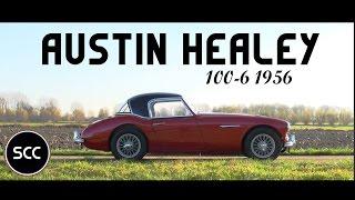 Austin Healey 100/6 100-6 1956 - Test Drive in top gear - Engine Sound   SCC TV