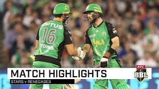 Stoinis inspires Stars to MCG win | KFC BBL|08