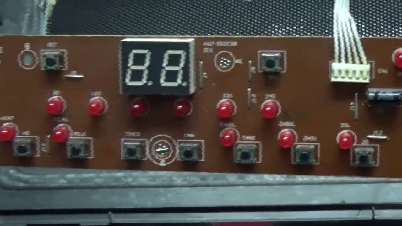 Delightful How To Repair Power Switch Of Induction Stove   YouTube