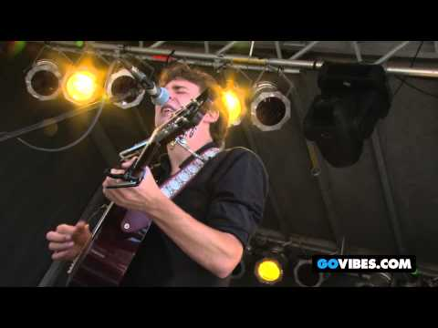"""Joe Pug Performs """"Not So Sure"""" at Gathering of the Vibes Music Festival 2012"""