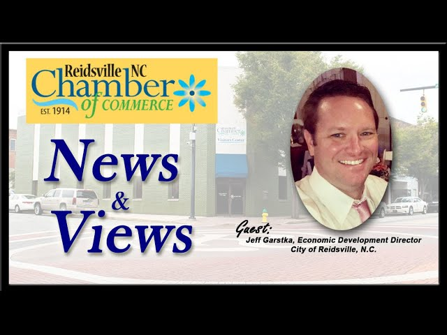 Episode #2 - Dec. 2019 - Guest Jeff Garstka, Economic Development Director, City of Reidsville, N.C.