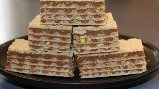 Croatian Wafer cake / Slice (Oblatne)