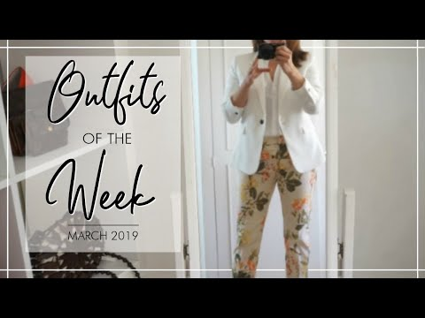 OUTFITS OF THE WEEK - March  Fashion Over 40
