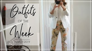 OUTFITS OF THE WEEK - March | Fashion Over 40