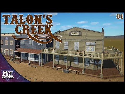 Talon's Creek - The Beginning Of A Park - Planet Coaster