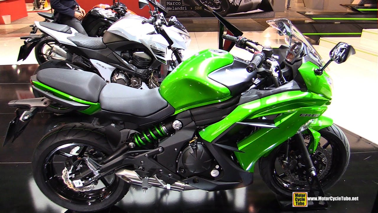 2015 kawasaki er 6f walkaround 2014 eicma milan motorcycle exhibition youtube. Black Bedroom Furniture Sets. Home Design Ideas