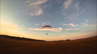 Курсант из Хабаровска. Вечерние полеты. Обучение полетам на парамоторе