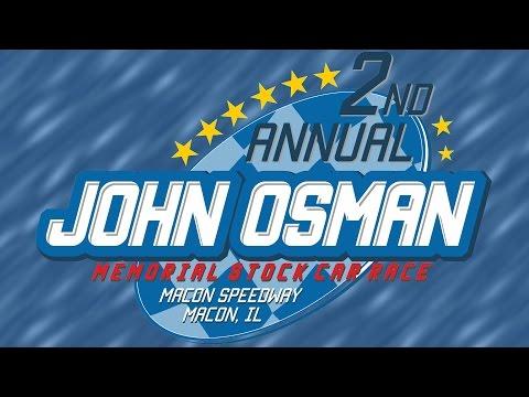 2016 John Osman Memorial   Macon Speedway   9/10/2016