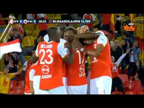 Ind. Santa Fe 1 - 0 Deportivo Pasto. Fecha 11 Liga Aguila 2017 II | Win Sports