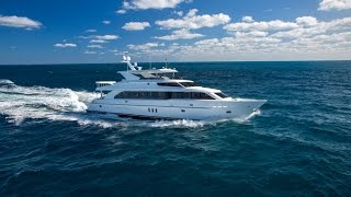 101' Hargrave Custom Yacht SASSY walk-through