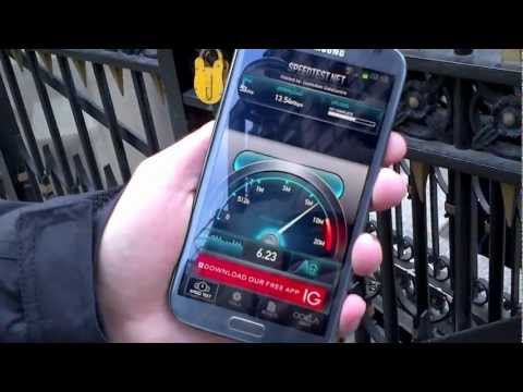 EE 4G LTE Speed Tests in Central London