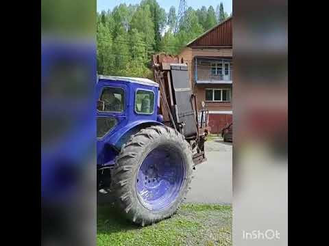 Дровокол на тракторе Т-40