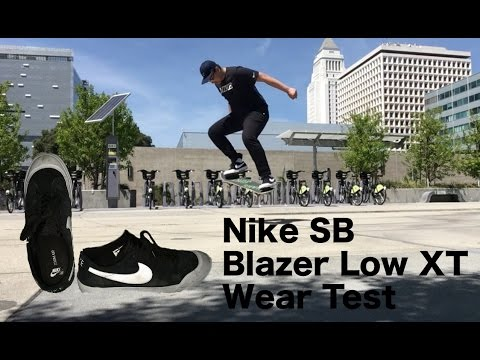 official photos 6d487 2116f Nike Sb Blzer Low XT Wear Test and First Impressions